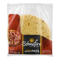 Stonefire Artisan Pizza Crust Thin - 2 ct