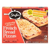 Stouffer's French Bread Pizza Extra Cheese - 2 ct Frozen
