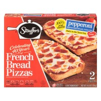 Stouffer's French Bread Pizza Pepperoni Frozen - 2 ct