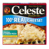Celeste Pizza For One Original 4 Cheese Thin Crust Frozen