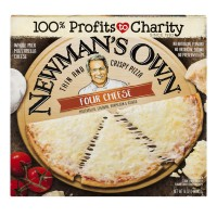 Newman's Own Pizza Four Cheese Thin & Crispy Frozen