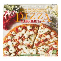 Amy's Pizza Margherita Thin Crust Organic Frozen