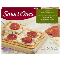Smart Ones Savory Italian Recipes Thin Crust Pepperoni Pizza