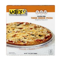 Udi's Gluten Free Soy Free Pizza Three Cheese Frozen