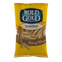 Rold Gold Pretzels Braided Twists Honey Wheat