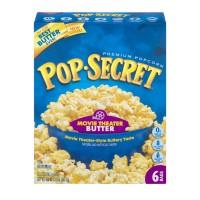Pop Secret Microwave Popcorn Movie Theater Butter