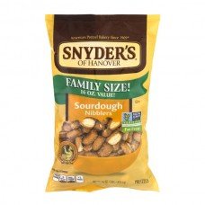 Snyder's of Hanover Pretzel Nibblers Sourdough Fat Free All Natural