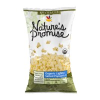 Nature's Promise Organics Popcorn Lightly Salted