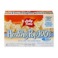 Jolly Time Healthy Pop 100 Calorie Mini Bag Kettle Corn - 4 ct