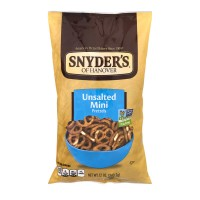 Snyder's of Hanover Pretzels Mini Unsalted Fat Free