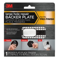 3M 6 in. Plastic Wall Repair Backer Plate