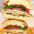 Chicken Sandwich with Fresh Mozzarella