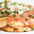 Penne with Pink Vodka Cream Sauce