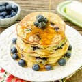 Pancakes W/ Blueberries
