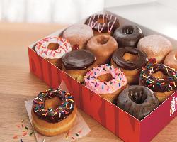 Dunkin Donuts Dozen Donuts