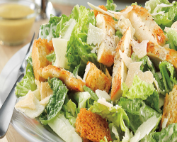 San Giorgios Ceasar Salad with Chicken