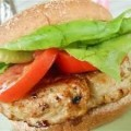 Grilled Chicken with Lettuce, Tomato, Oil and  Vinegar
