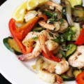Grilled Shrimp with Mixed Vegetables
