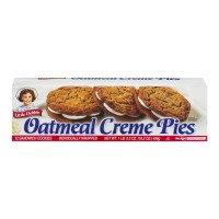Little Debbie Pies Oatmeal Creme - 12 ct