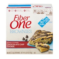 Fiber One Brownies 90 Calorie Chocolate Chip Cookie - 6 ct