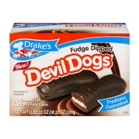 Drake's Fudge Dipped Devil Dogs - 8 ct