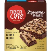 Fiber One Supreme Brownie Cookie Dough - 5 ct