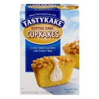 Tastykake Koffee Kakes Cream Filled Family Pack - 12 ct