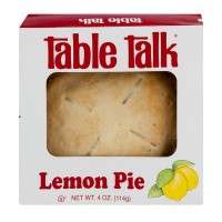 Table Talk Snack Pie Lemon 4 Inch