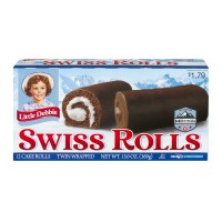 Little Debbie Rolls Swiss Cake 2 ct ea - 6 ct
