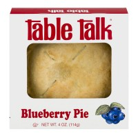 Table Talk Snack Pie Blueberry 4 Inch