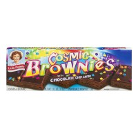 Little Debbie Cosmic Brownies with Chocolate Chip Candy - 6 ct