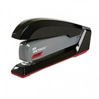 Staples® One-Touch® Desktop Stapler, Fastening Capacity 20 Sheets, Black/Gray