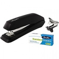 Swingline® Standard Stapler Value Pack (Premium Staples & Remover Included), 15 Sheet Capacity, Black (54567)