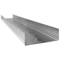 ClarkDietrich ProTRAK 25 3-5/8 in. x 10 ft. 25-Gauge EQ Galvanized Steel Track