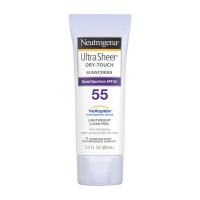 Neutrogena Ultra Sheer Dry-Touch Sunscreen Lotion Water Resistant SPF 55