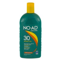 NO-AD Sunscreen Lotion Water Resistant (80 Min) UVA/UVB Protection SPF 30