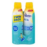 Coppertone Kids Sunscreen Spray Water Resistant SPF 50 - 2 pk