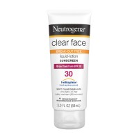 Neutrogena Clear Face Sunscreen Liquid-Lotion Oil Free SPF 30