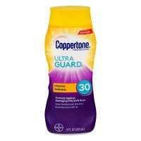Coppertone ultraGUARD Sunscreen Lotion Water Resistant UVA/UVB SPF 30