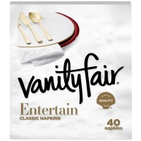 Vanity Fair Premium Dinner Napkins 3-Ply