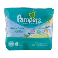 Pampers Baby Wipes Baby Fresh Travel Pack 64 ct ea - 3 pk