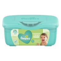 Pampers Complete Clean Baby Wipes Unscented