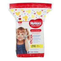Huggies Simply Clean Baby Wipes Fragrance Free Refill