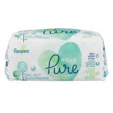 Pampers Aqua Pure Baby Wipes Pop-Top - 2 pk
