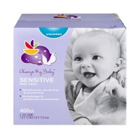 Always My Baby Wipes Sensitive Unscented 100 ct ea - 4 pk