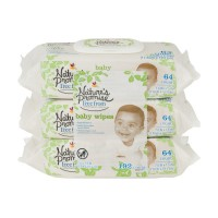 Nature's Promise Free from Baby Wipes Hypoallergenic 64 ct ea - 3 pk