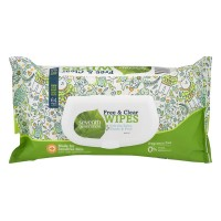 Seventh Generation Baby Wipes Free & Clear Fragrance Free