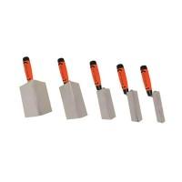 3 1/8 in. x 1/2 in. Stainless Steel Drywall Trowel with Proform Handle