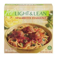 Amy's Light & Lean Spaghetti Italiano with Meatless Meatballs Organic
