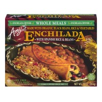 Amy's Whole Meals Enchilada with Spanish Rice & Beans Organic